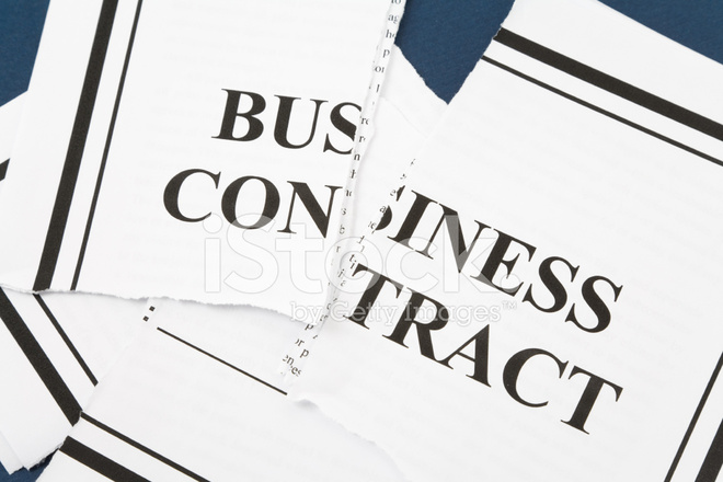Business Vertrag Kündigen Stockfotos - FreeImages.com