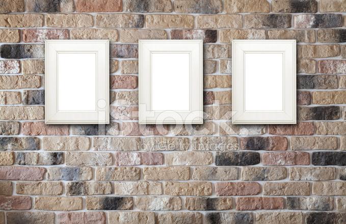 Photo Frames on Brick Wall Stock Photos - FreeImages.com