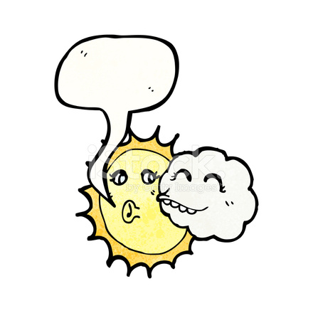 Dibujos Animados DE Nubes Y Sol fotografas de stock  FreeImagescom