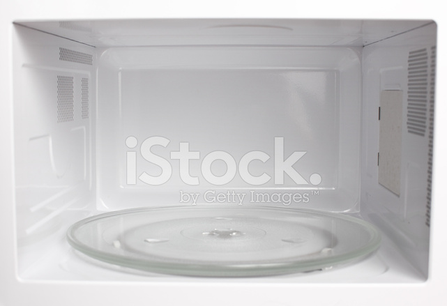 Microwave Oven Inside View Stock Photos Freeimages Com