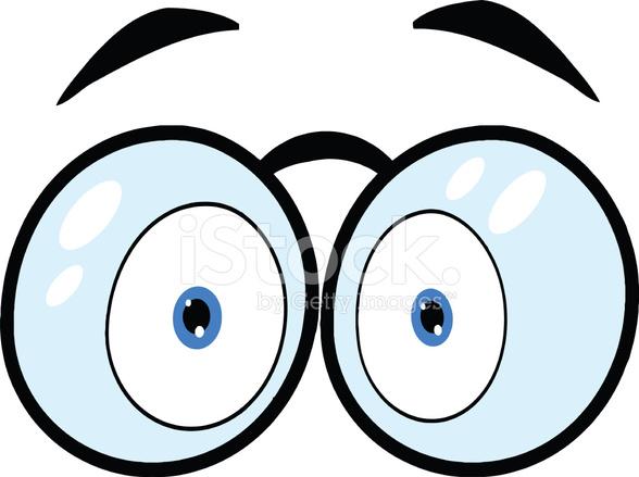 Olhos De Desenho Animado Com 211 Culos Stock Vector