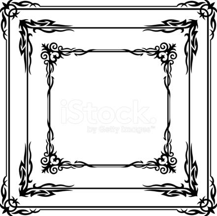 Gothic Borders Stock Vector