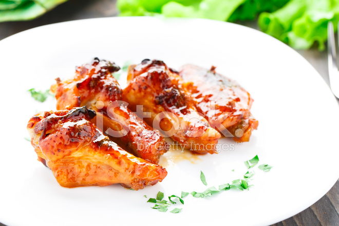 Old Fashion Honey Garlic Wings