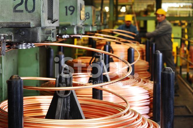 Verdrillung Maschinen UND Arbeiter IN Der Fabrik Stockfotos ...