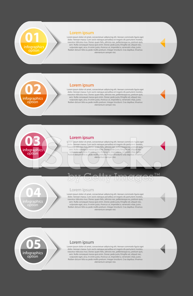 Business canvas infographic