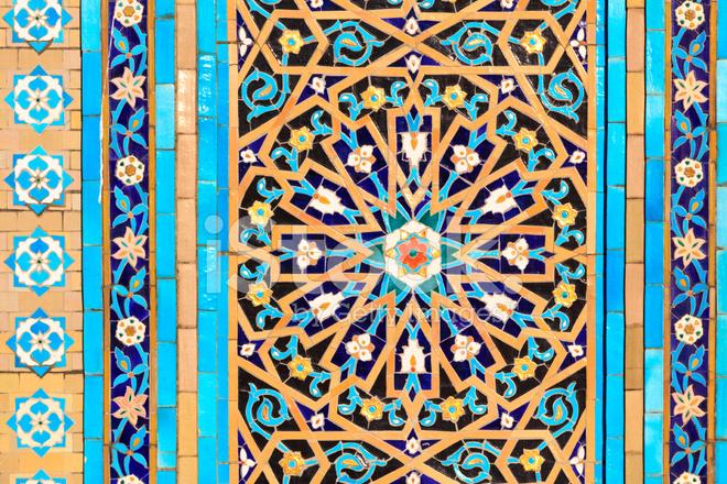 orientalische mosaik muster - Mosaik Muster