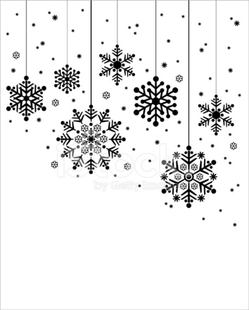 christmas hanging snowflakes in silhouette stock vector free mountain clip art images free clipart mountain climber