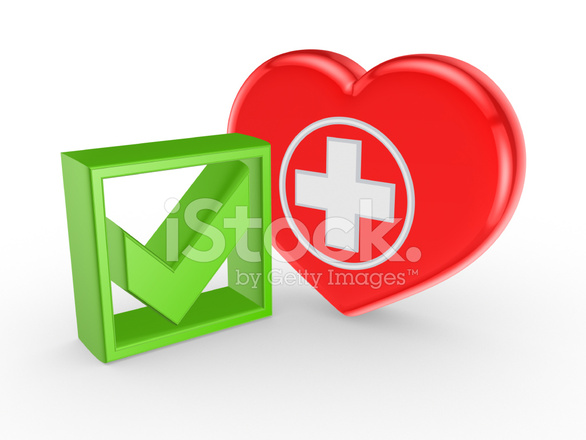 Green Tick Mark And Symbol Of Stock Photos Freeimages