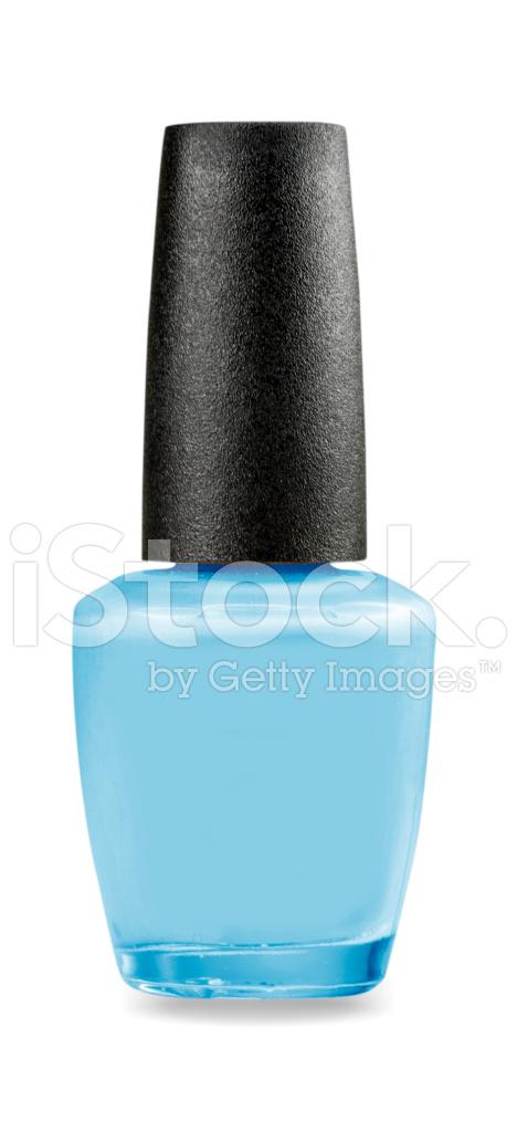 Nail Polish Bottle on White Background stock photos ...
