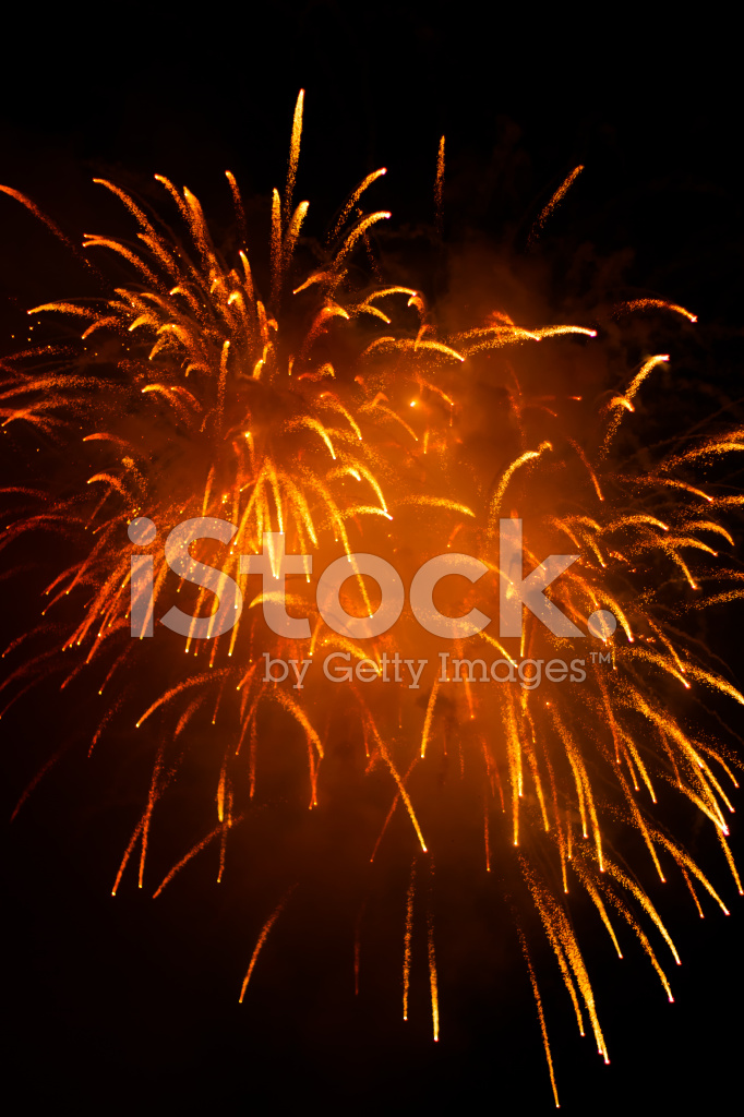 colorful fireworks against night background for new year celebra