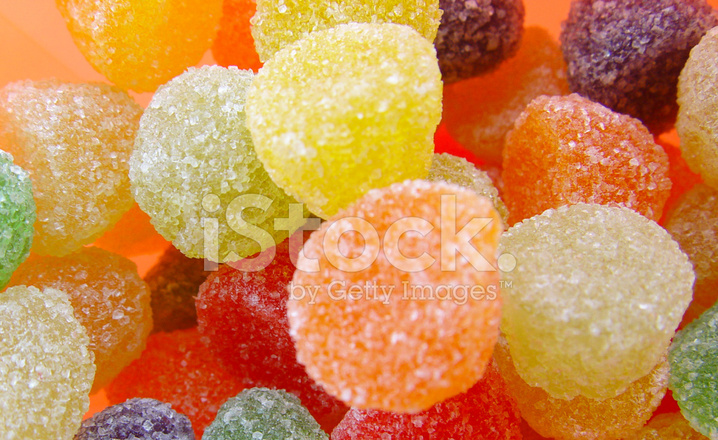 Galerry fruit colored candy