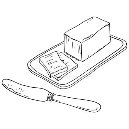 Butter Sketch Illustration Stock Vector - FreeImages.com