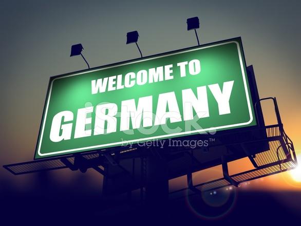 Welcome To Germany Billboard At Sunrise 1752727 on Sri Lanka Flag