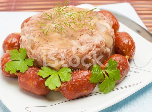 Cuisine russe gel e de viande aspic photos - Cuisine traditionnelle russe ...