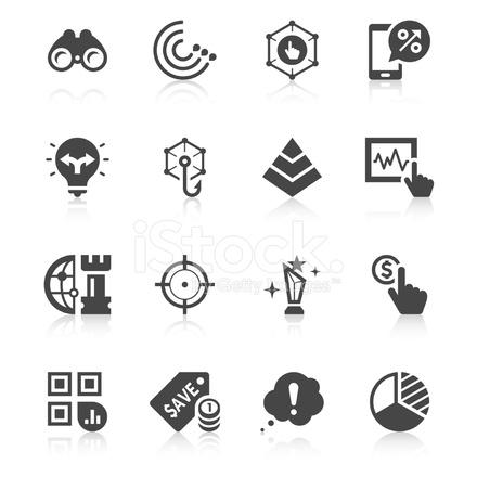 Marketing Icon Set Unique Series 869788