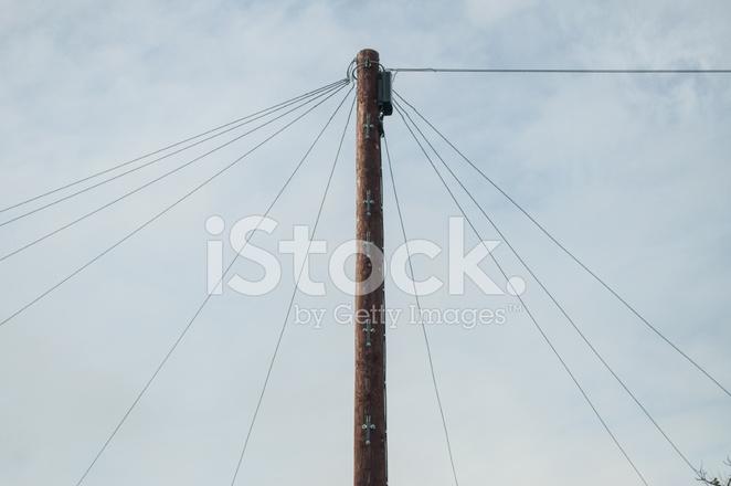 Alte Technologie, Telefonmast Stockfotos - FreeImages.com