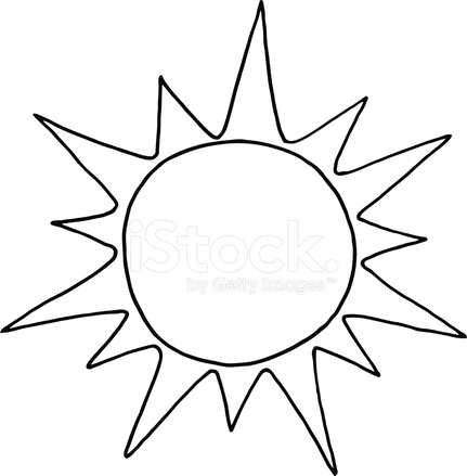 Black And White Sun 1596289