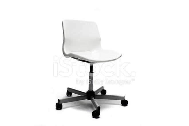 Sedia da ufficio bianca elegante fotografie stock freeimages