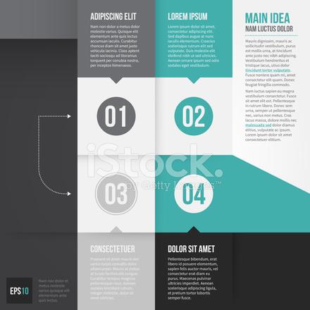Vektor Infografiken Abstrakt Banner Vorlage Entwerfen Stock Vector ...