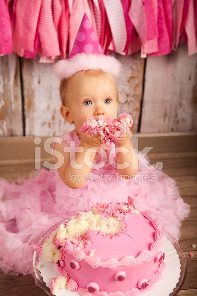 Swell Babys First Birthday Stock Photos Freeimages Com Personalised Birthday Cards Veneteletsinfo