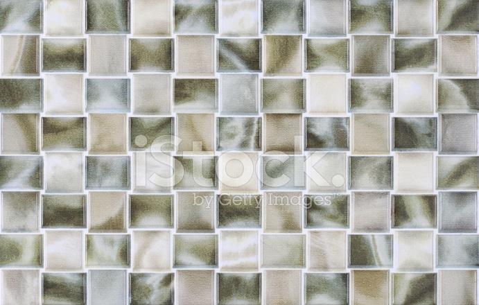 Piastrelle quadrate in marmo con effetti colorati fotografie stock