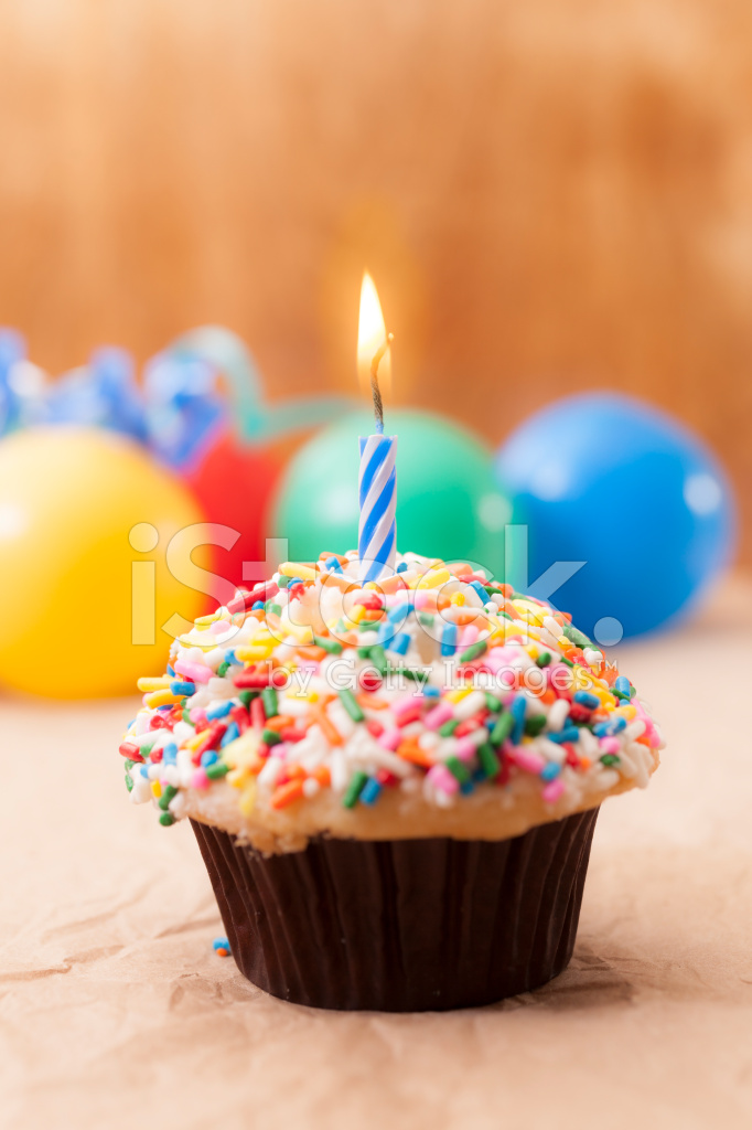 Burning Birthday Cake Images
