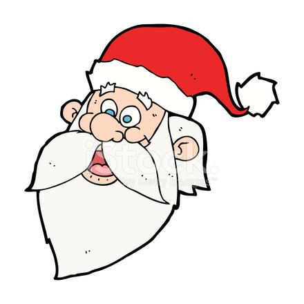 Bildresultat för tecknad jultomte ansikte