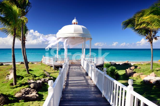 Caribbean beach stock photos for Design hotel karibik