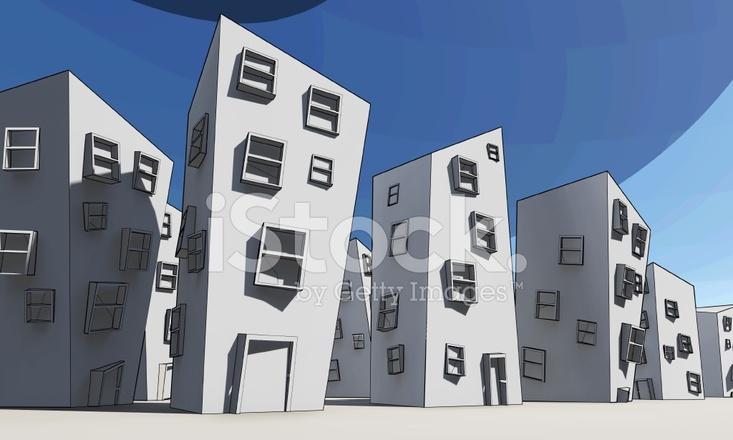 Arquitectura DE Caricatura Ilustración, Cómics Edificios