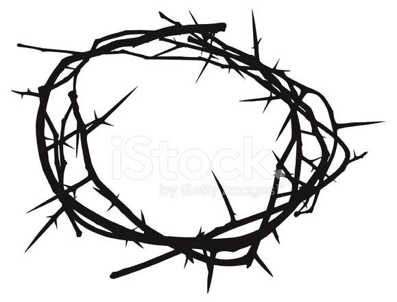 Crown Of Thorns Stock Vector