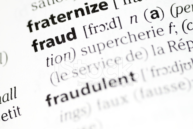 fraud definition stock photos