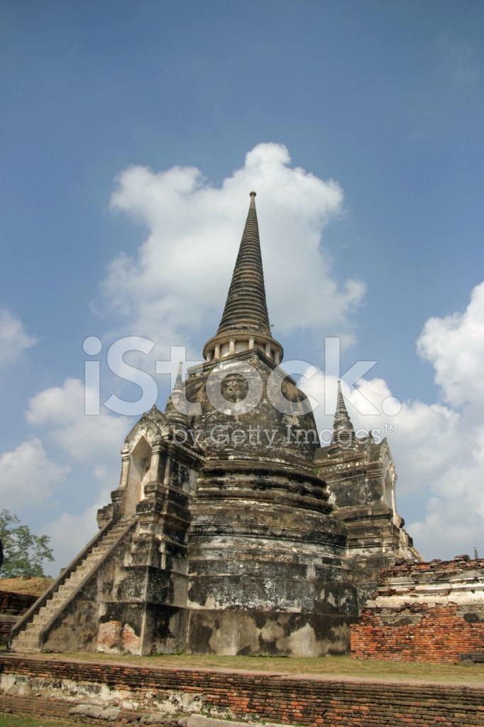 Wat Phra SI Sanphet IN Ayutthaya, Thailand stock photos ...