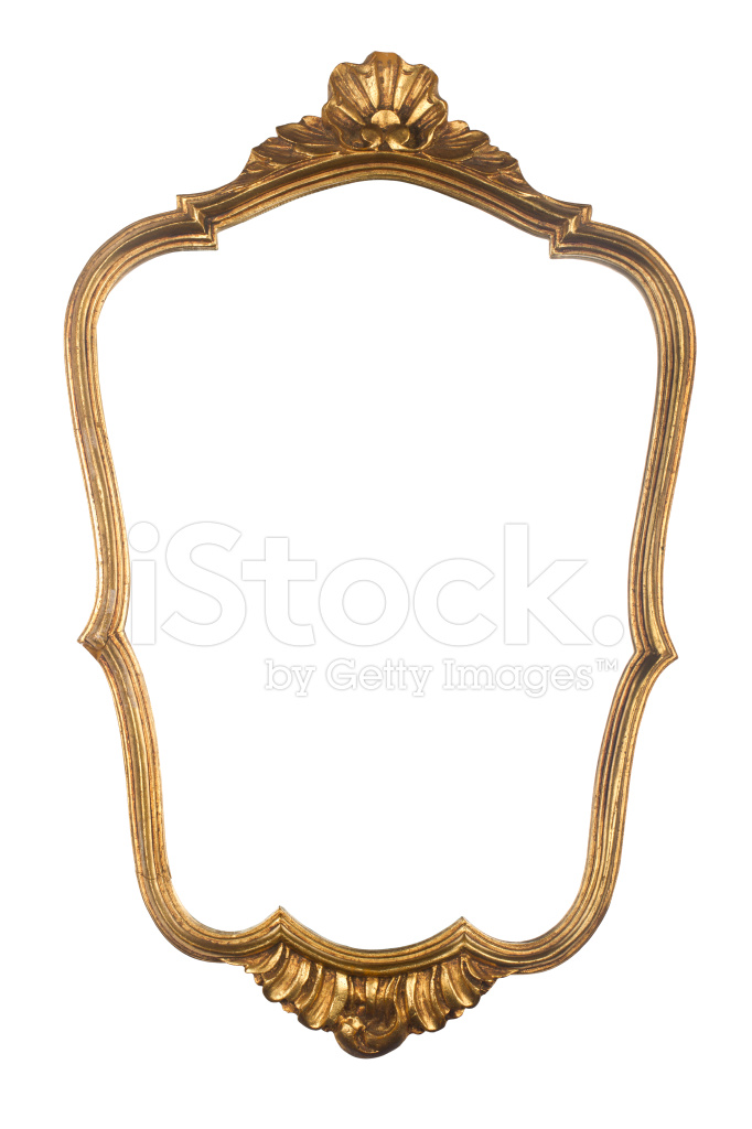 Vintage Gold Mirror Frame Stock Photos - FreeImages.com