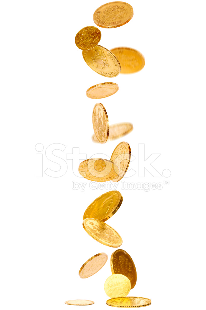 falling gold coins stock photos freeimagescom