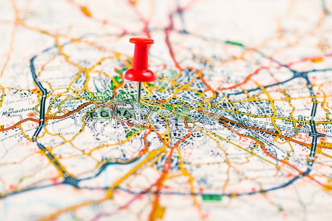 rome pin map