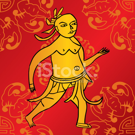 Ancient Chinese Acupuncture Book Stock Vector Freeimages Com