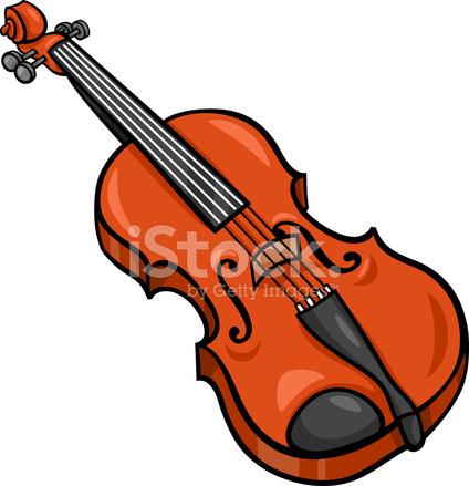 小提琴卡通插图剪贴画 Stock Vector Freeimages Com