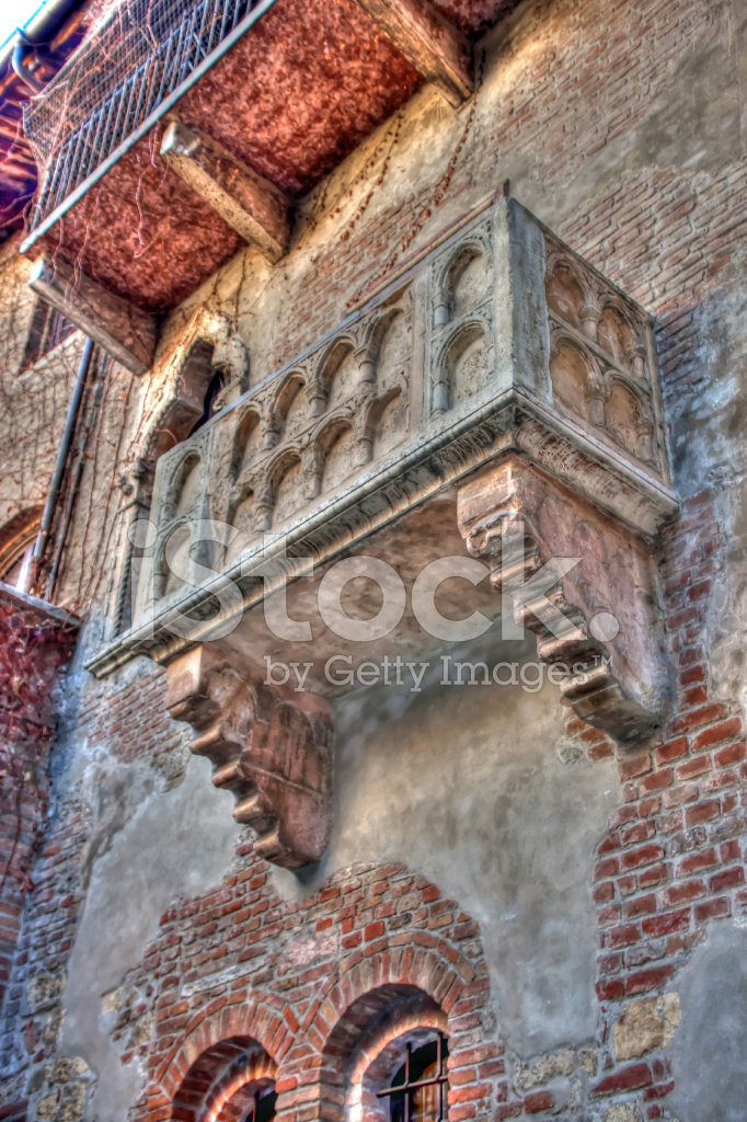 Blick Auf Balkon Julia Romeo Und Julia Verona Tonemapped