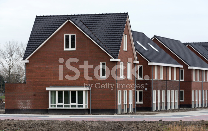 New Build Houses In Holland Stock Photos Freeimages Com