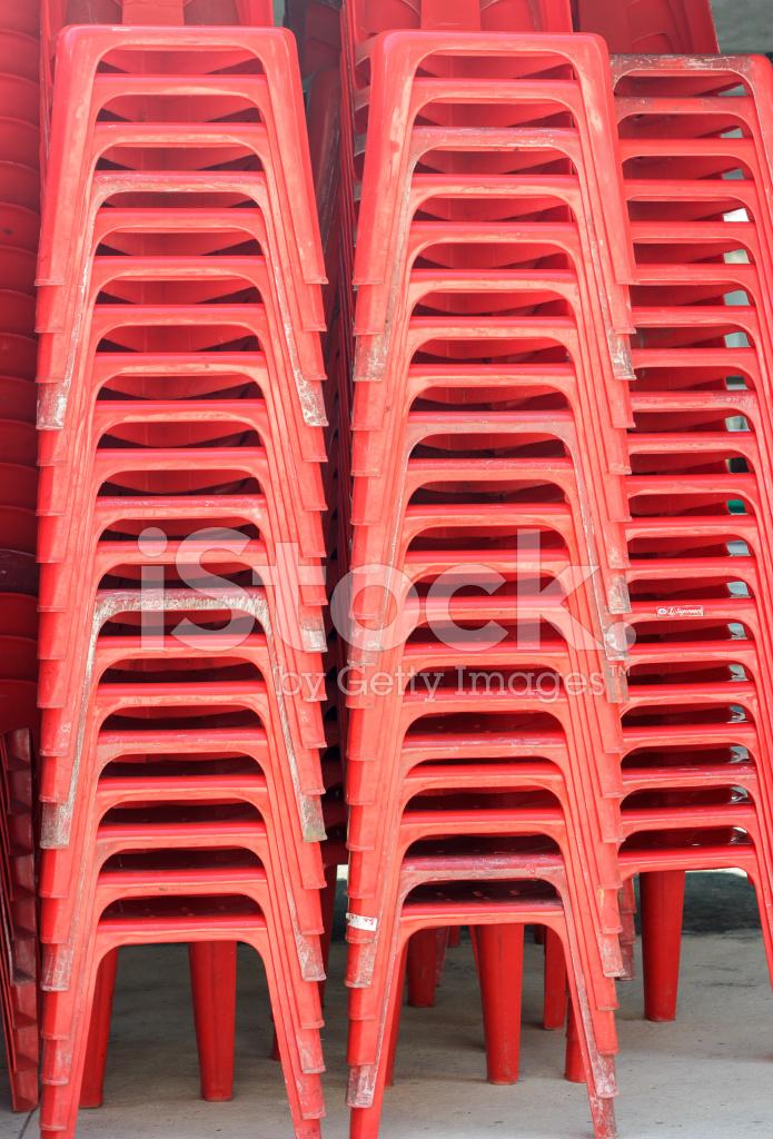 Sedie In Plastica Stock.Mucchio Di Sedie Di Plastica Fotografie Stock Freeimages Com
