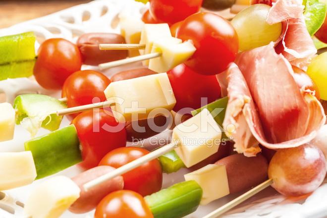 Käse spieße trauben Wie viel