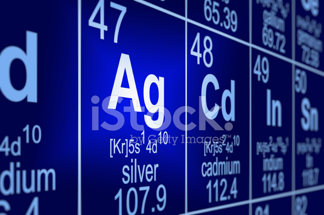 Periodic Table Silver Stock Photos Freeimages