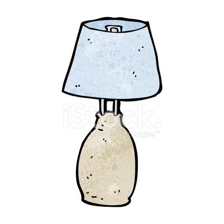 Cartoon Lamp Stock Vector Freeimages Com