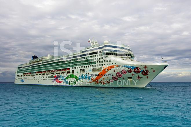 Norwegian Pearl Cruise Ship Stock Photos FreeImagescom - Norwegian pearl cruise ship
