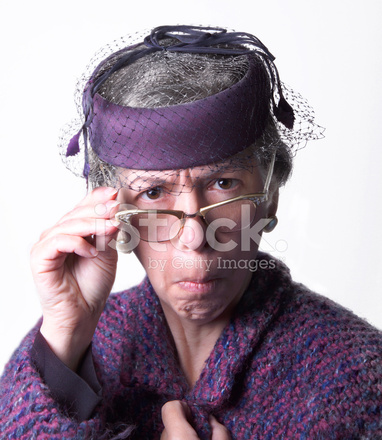 Mean Old Lady Stock Photos Freeimages Com