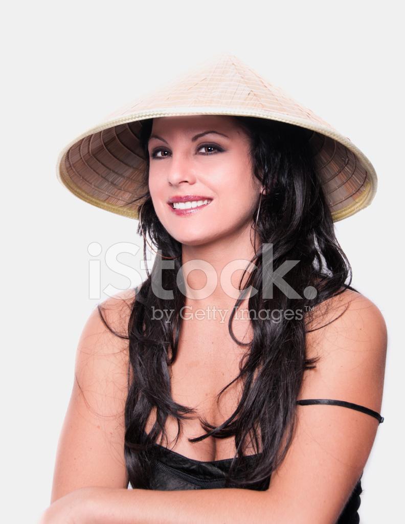 かわいい中国の帽子 ストックフォト - freeimages