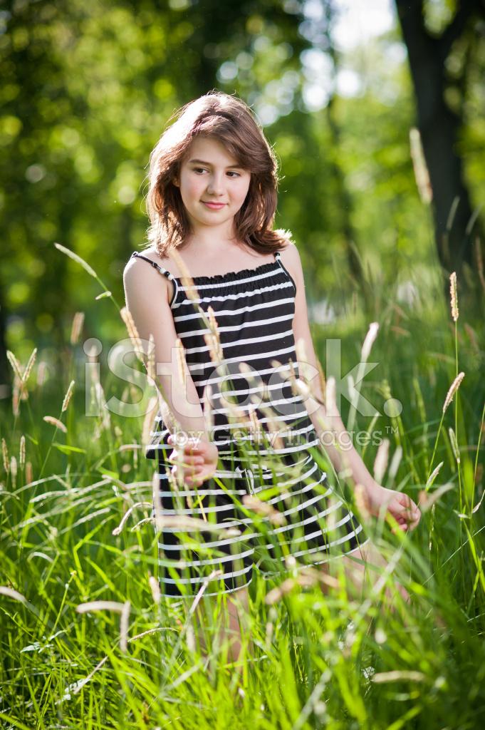 Oct teen cutie outdoor