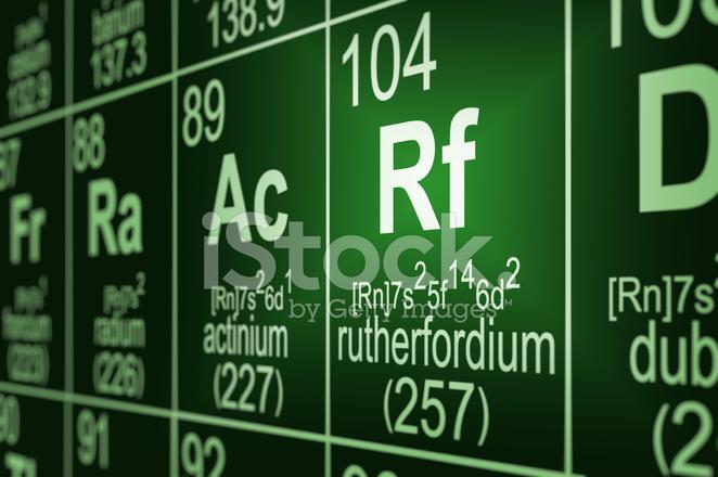Tabla peridica rutherfordio fotografas de stock freeimages premium stock photo of tabla peridica rutherfordio urtaz Choice Image