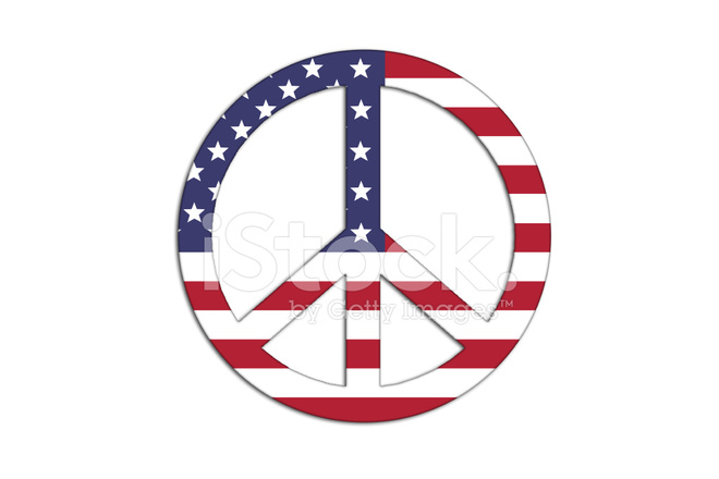 Peace And Love Stock Vector Freeimages