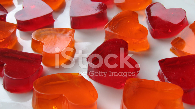 Heart Shaped Jello Stock Photos Freeimages